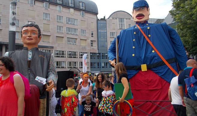 ANDY parrain du géant de St Quentin