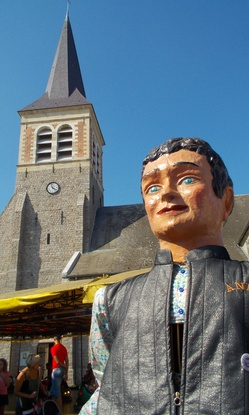 ANDY et l'eglise